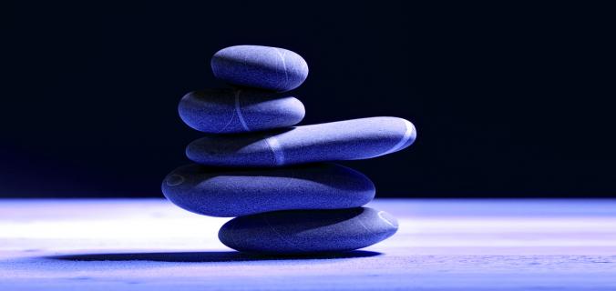immagine pietre equilibrio